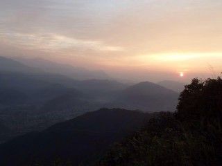 Sunrise at Sarangkot
