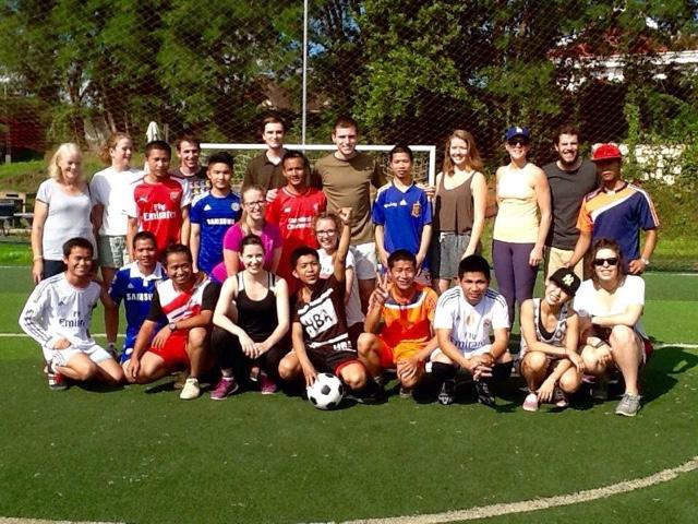Luke Soccer Match