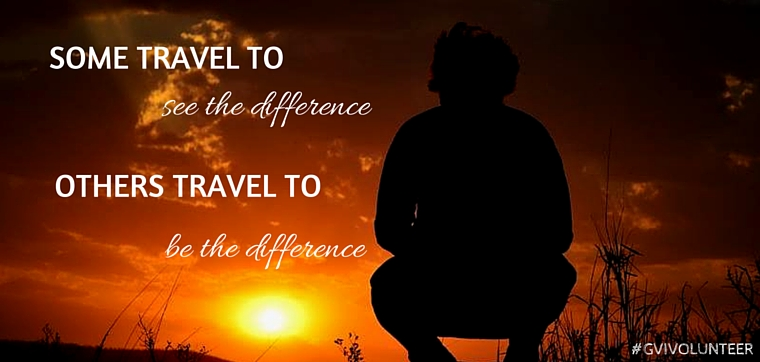 Quotes On Volunteering Best 9 Inspirational Travel And Volunteering Quotes  Gvi Uk