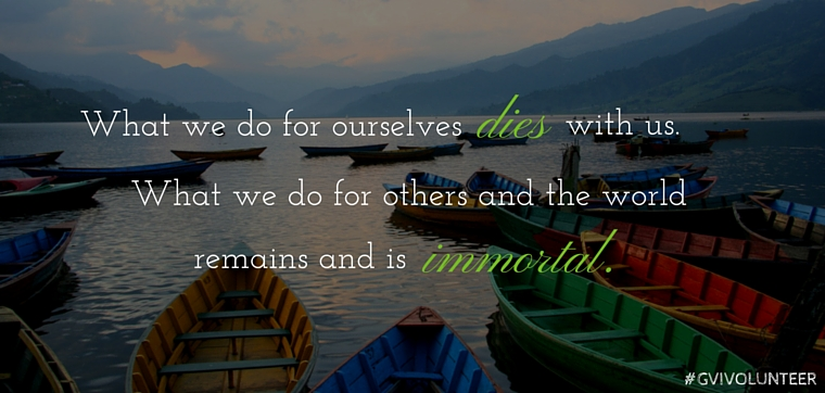 9 Inspirational Travel and Volunteering Quotes   GVI