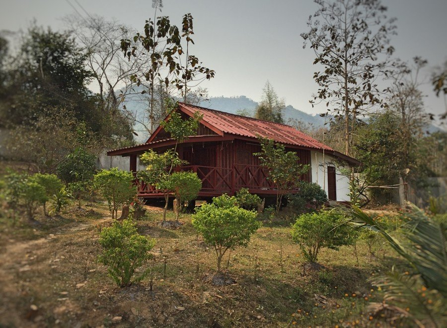 The house of the Nun at Wat Phao.