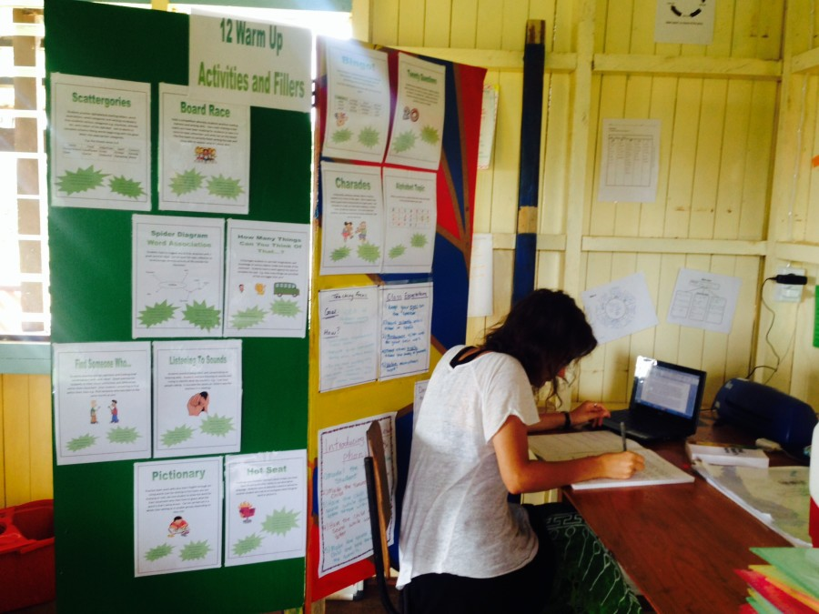 Volunteer Rachel who created the resources - Copy