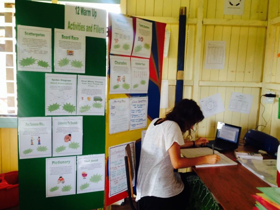 Volunteer Rachel who created the resources - Copy