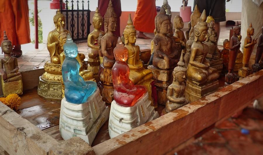 Watering of the Buddha at Wat Muenna