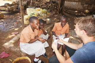 From my cushy lifestyle in UK to teaching in Mombasa……