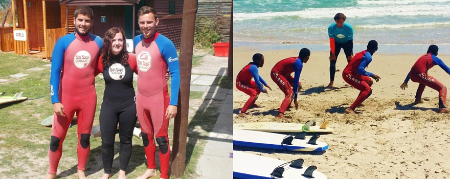 My first surf Lesson, a coordinator's tale