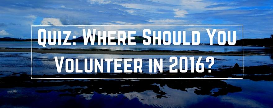 Quiz: Where Should You Volunteer Abroad?   GVI