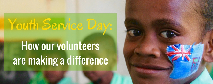 Youth Service Day: How Our Volunteers Are Making A Difference