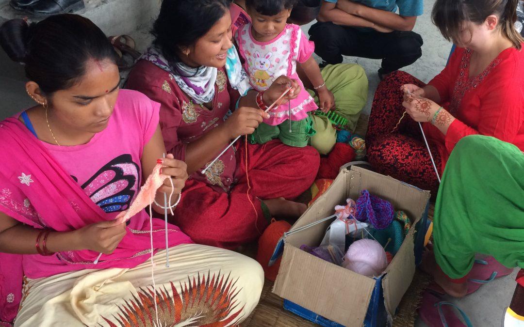 Knitting skills for women