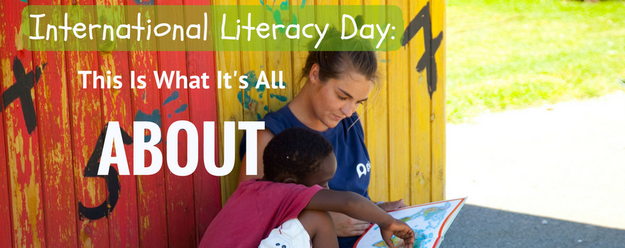 International Literacy Day: This Is What It's All About