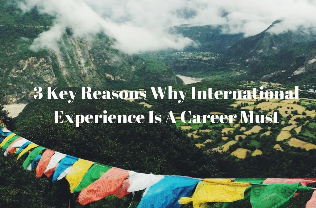 3 Key Reasons Why International Experience Is A Career Must