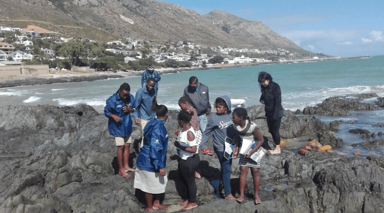 Break time – The time to smell the ocean!
