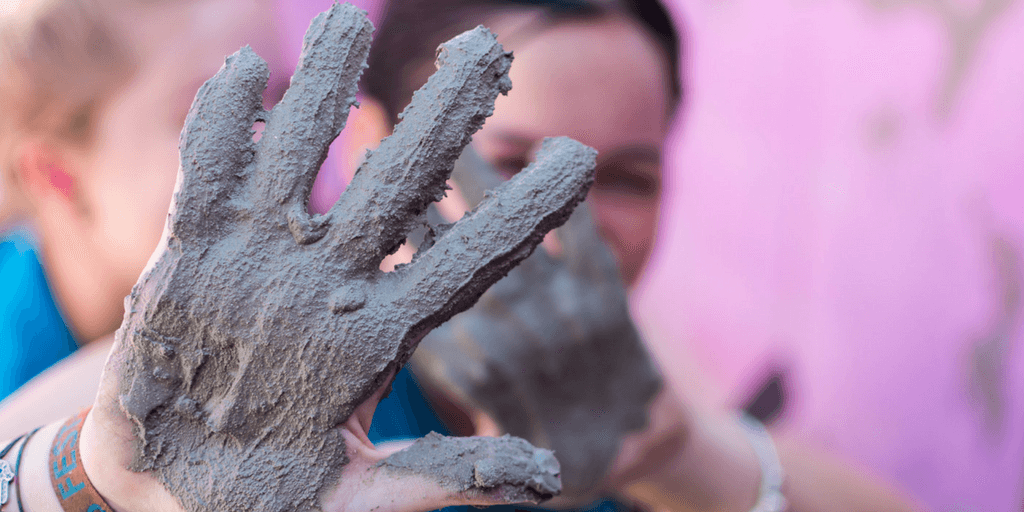 Show your students that you aren't afraid to show your flaws and get your hands dirty.