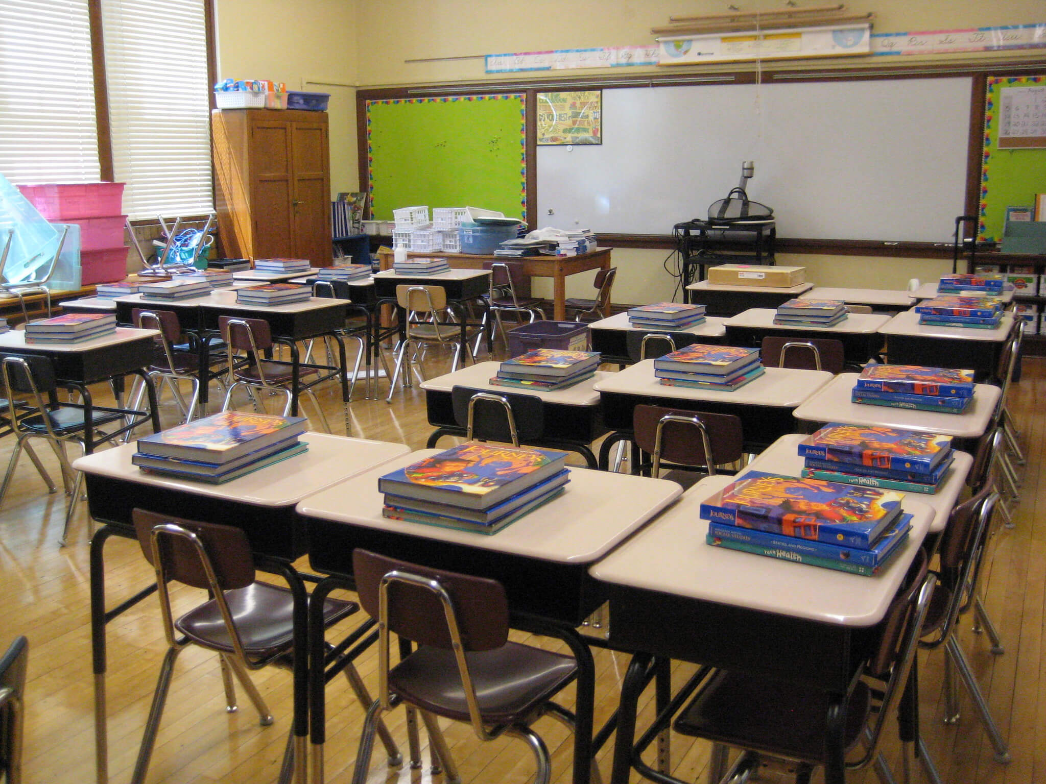Try out and test new classroom setups, lesson structures and class activities.