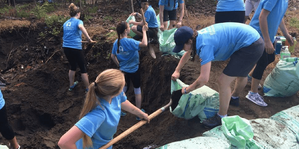 teen volunteering alternative spring break in costa rica