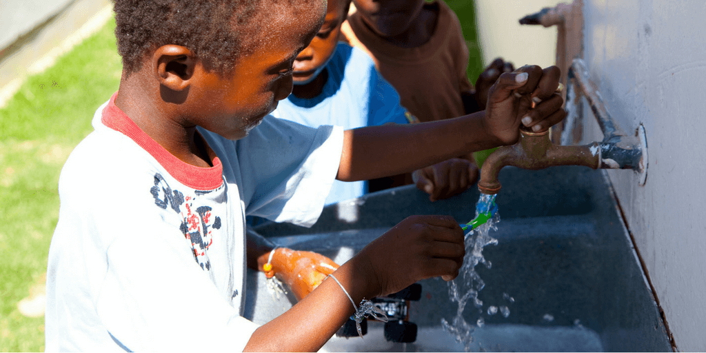 Water scarcity is a global issue caused by things like poor infrastructure and displacement.