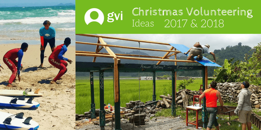 Christmas Volunteering Ideas | 2017 & 2018