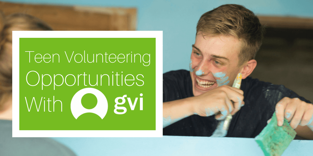 Teen Volunteer Opportunities With GVI