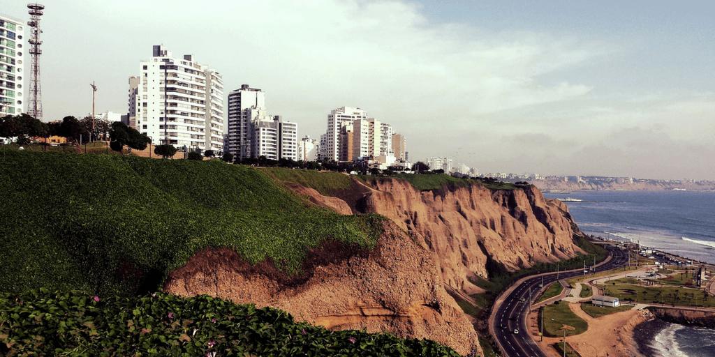 Choses à faire à Lima, notamment voir les falaises ocres
