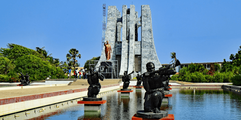 The tomb of Kwame Nkrumah