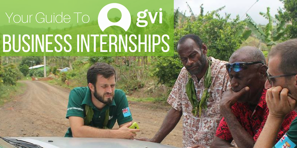 Your Guide To GVI's International Business Internships