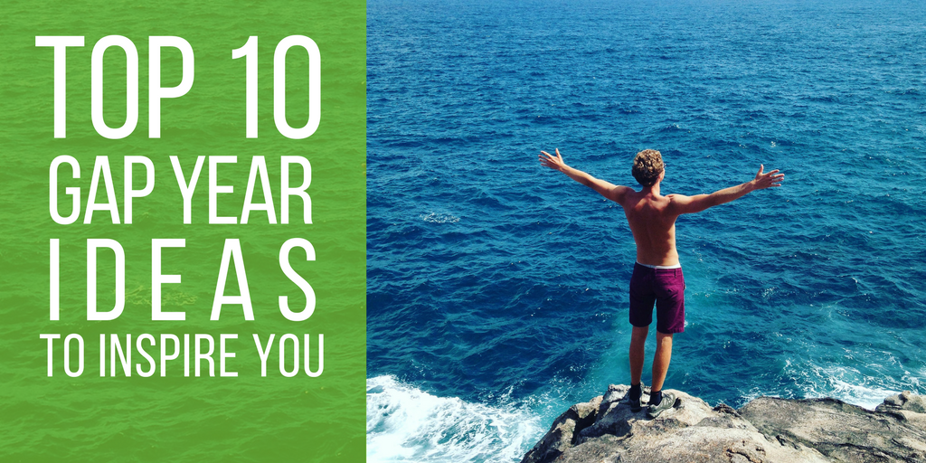 Top 10 gap year ideas to inspire you