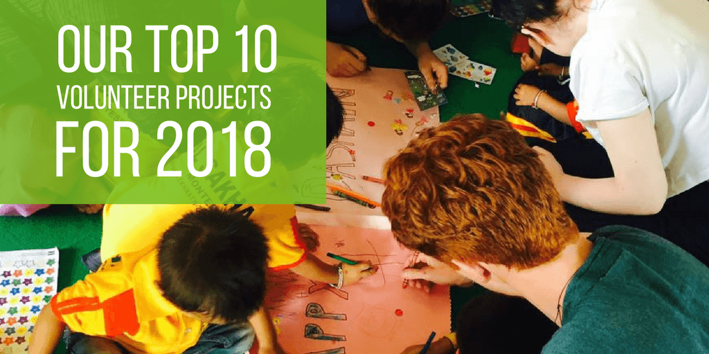 The Top 10 Volunteer Projects for 2018