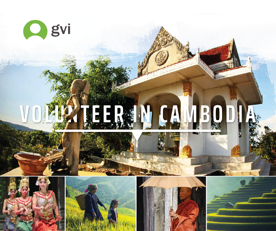 Volunteer in Cambodia image