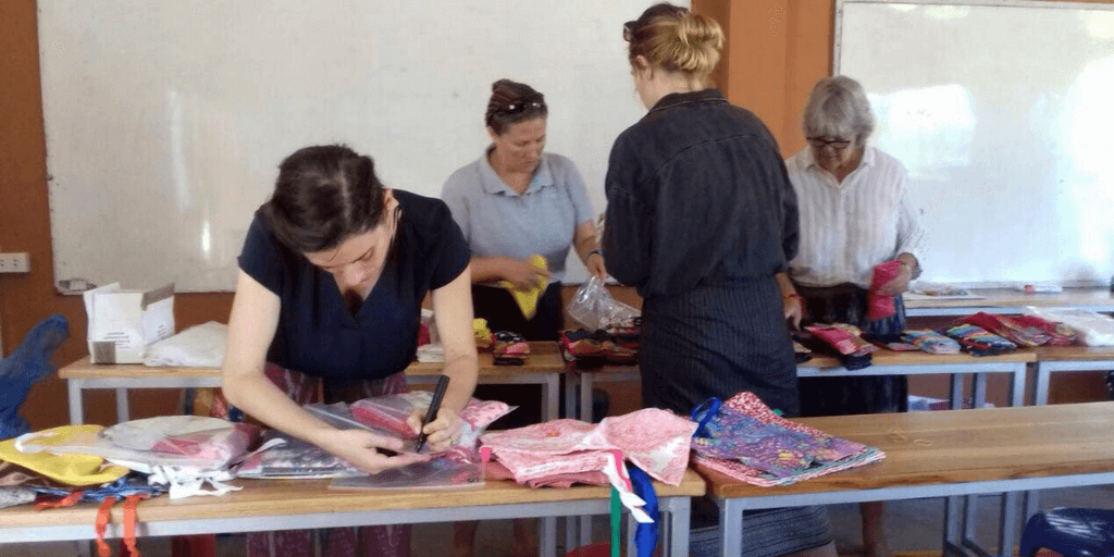 GVI Laos Menstrual Health Initiative Phase One