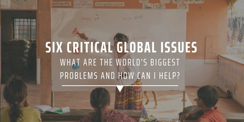 Six critical global issues | What are the world's biggest