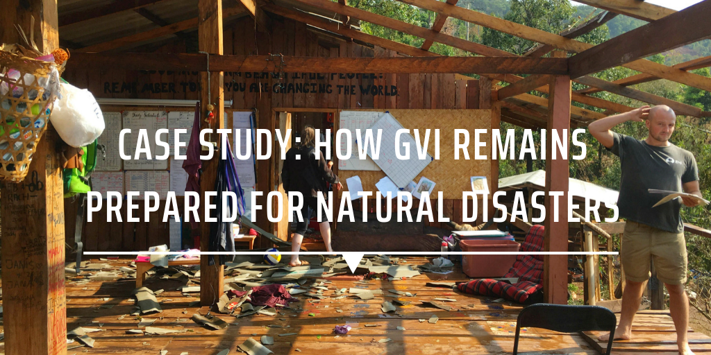CASE STUDY: HOW GVI REMAINS PREPARED FOR NATURAL DISASTERS