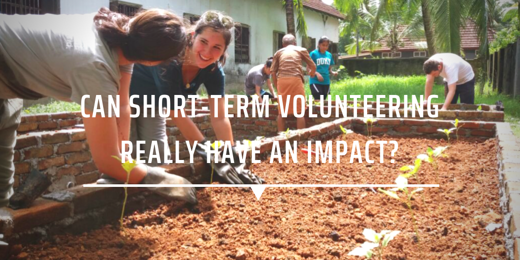Can short-term volunteering really have an impact?