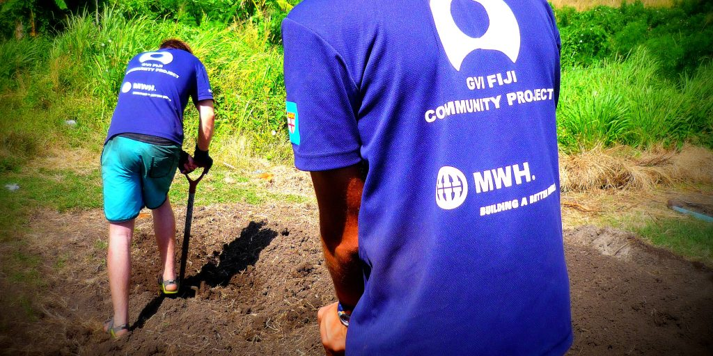 Teaching community members to grow their own food is one of the best ways to address hunger worldwide.