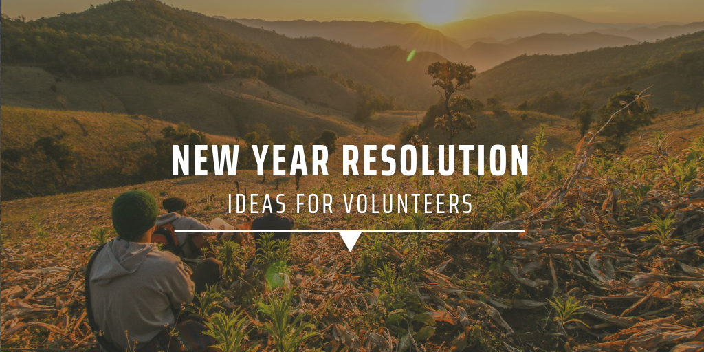 New year resolution ideas for volunteers