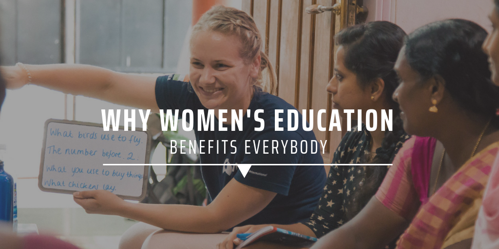 Why women's education benefits everybody