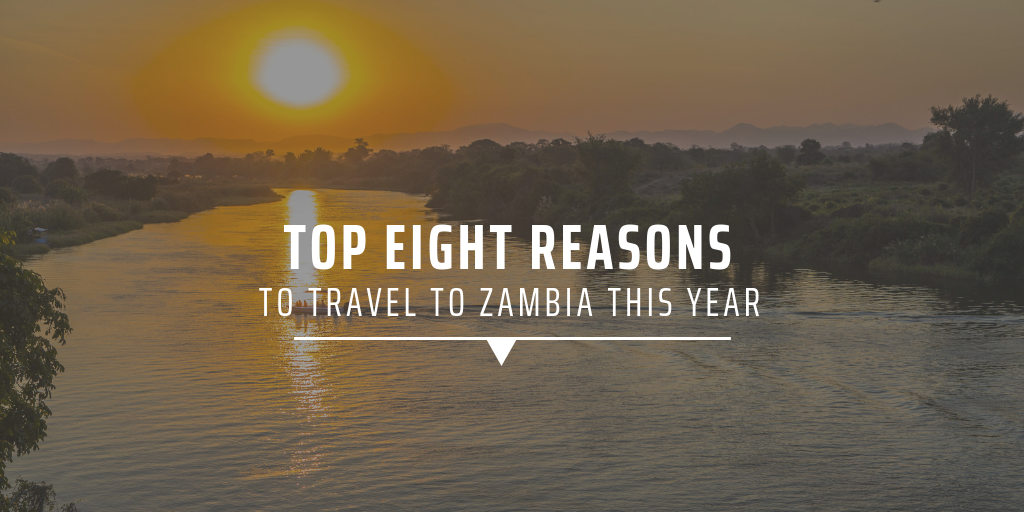 Top eight reasons to travel to Zambia this year