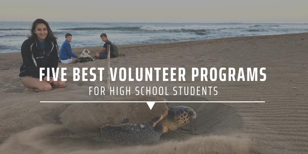 Five best volunteer programs for high school students
