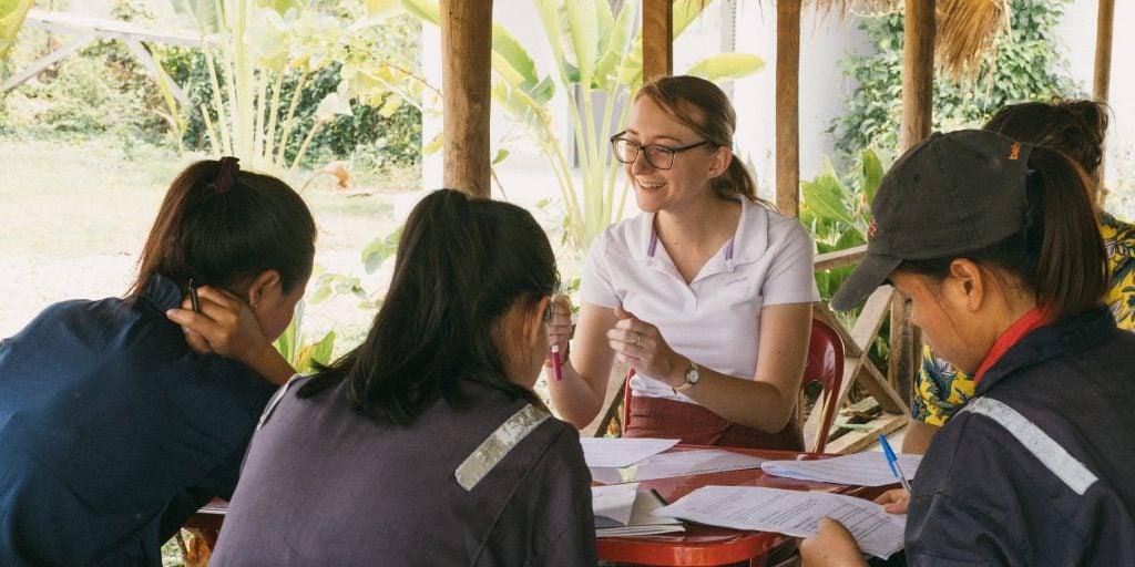 La meilleure façon d'apprendre la langue laotienne? Grâce à l'immersion linguistique!