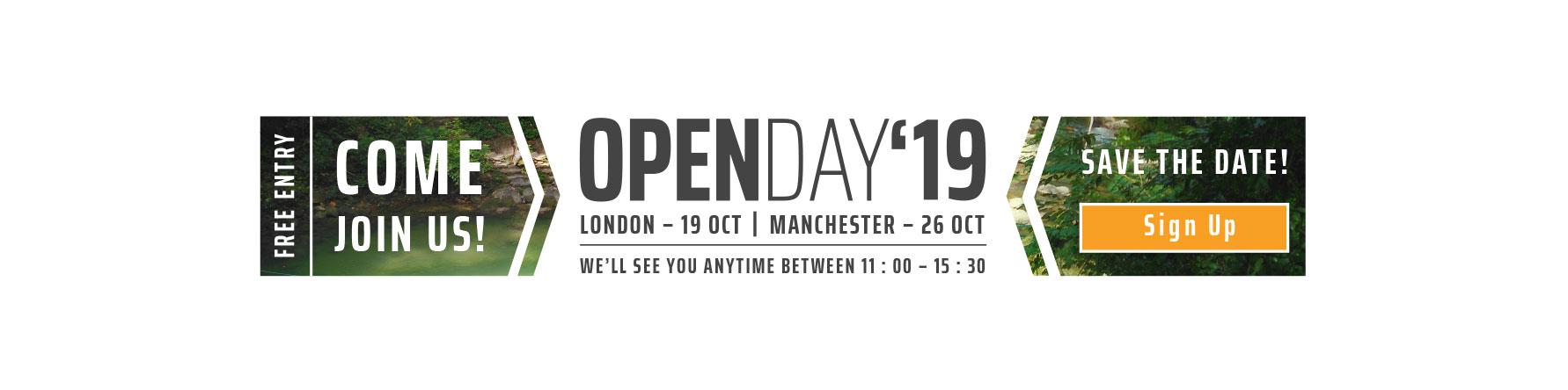 UK Open Day Oct19