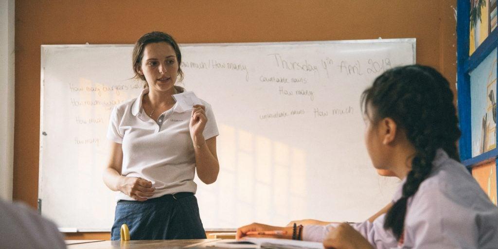 Vos collègues volontaires au Laos faciliteront la participation aux activités linguistiques et culturelles