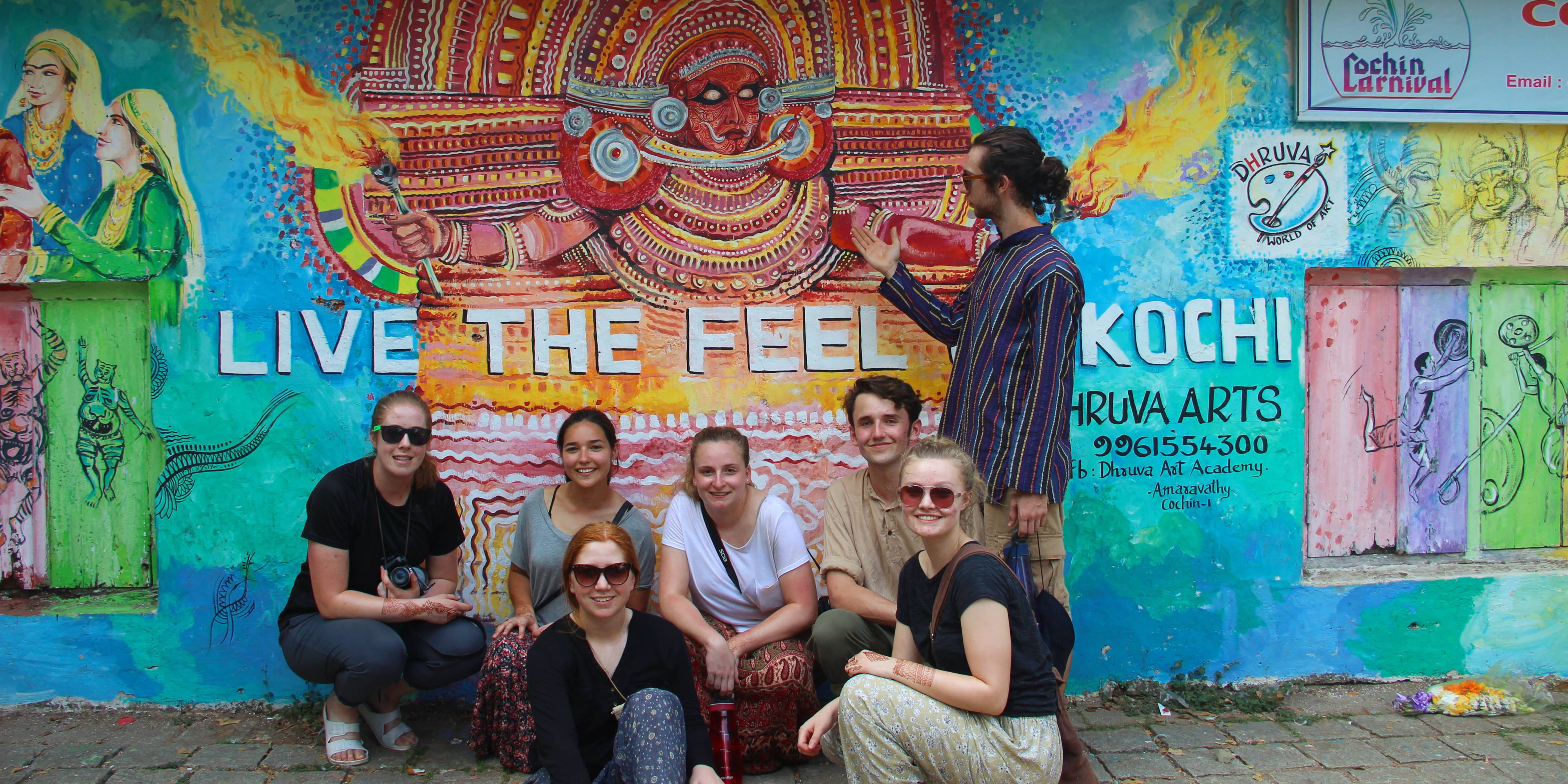 GVI participants spend time in the city of Kochi during their free time. When volunteering there will be opportunities for travel in India.