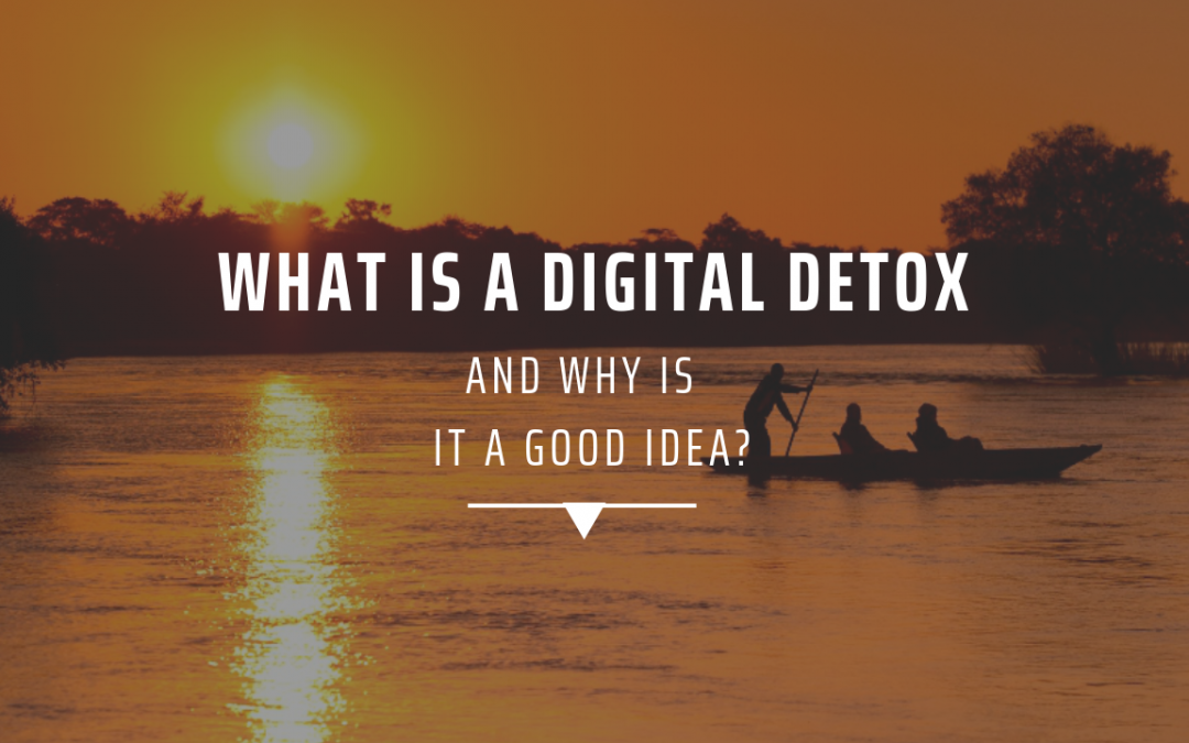 What is a digital detox and why is it a good idea?