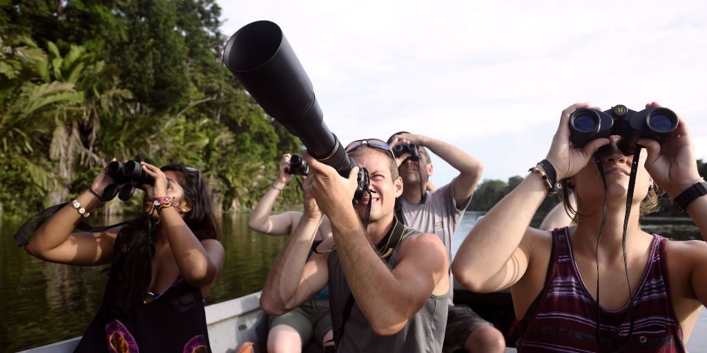 Birdwatching and conservation research goes hand in hand, perfect for a Big year of adventure on a GVI volunteer program.