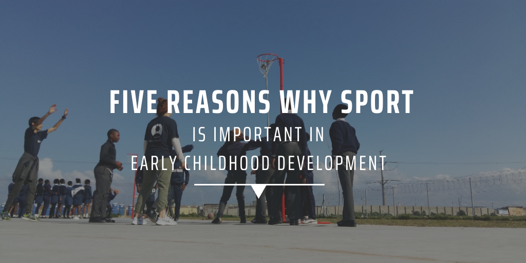 Five reasons why sport is important in early childhood development