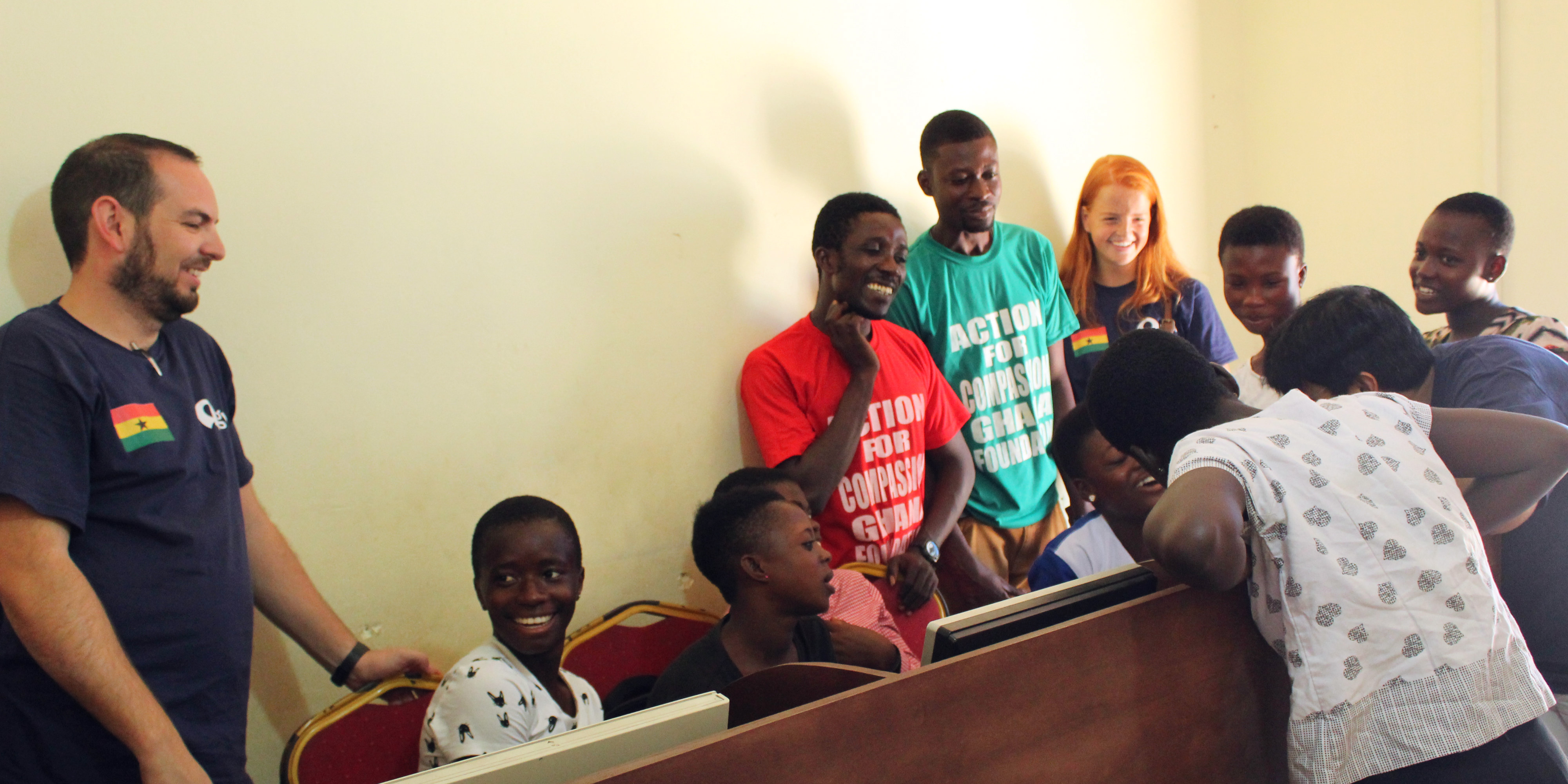 Looking for gap year ideas? Why not help with a computer literacy program in Ghana.