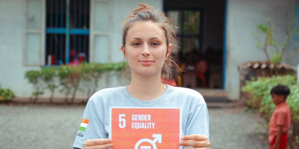 Working to advance gender equality is one of the goals you could have for your gap year.