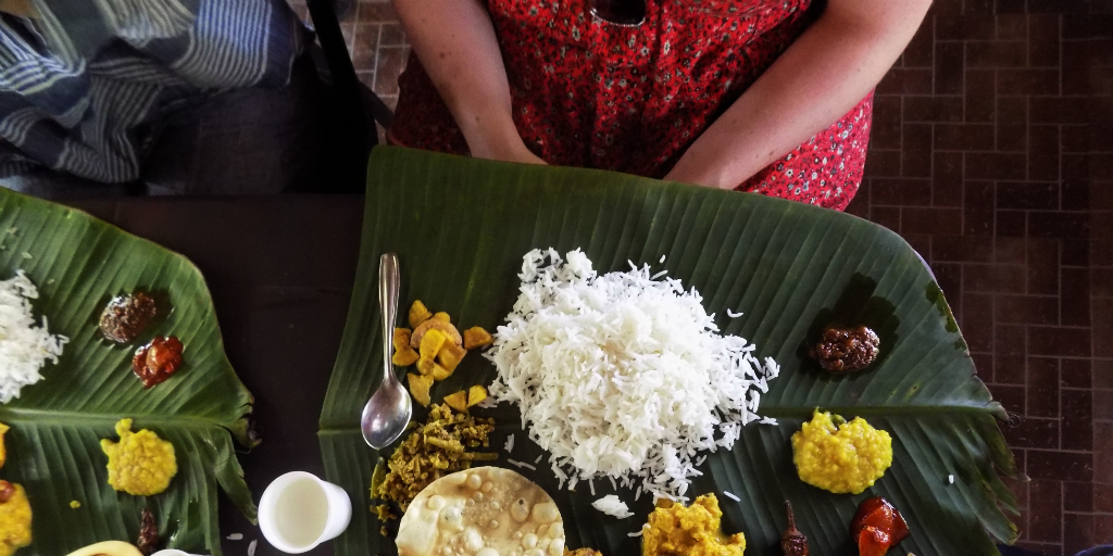 Kerala cooking and rice