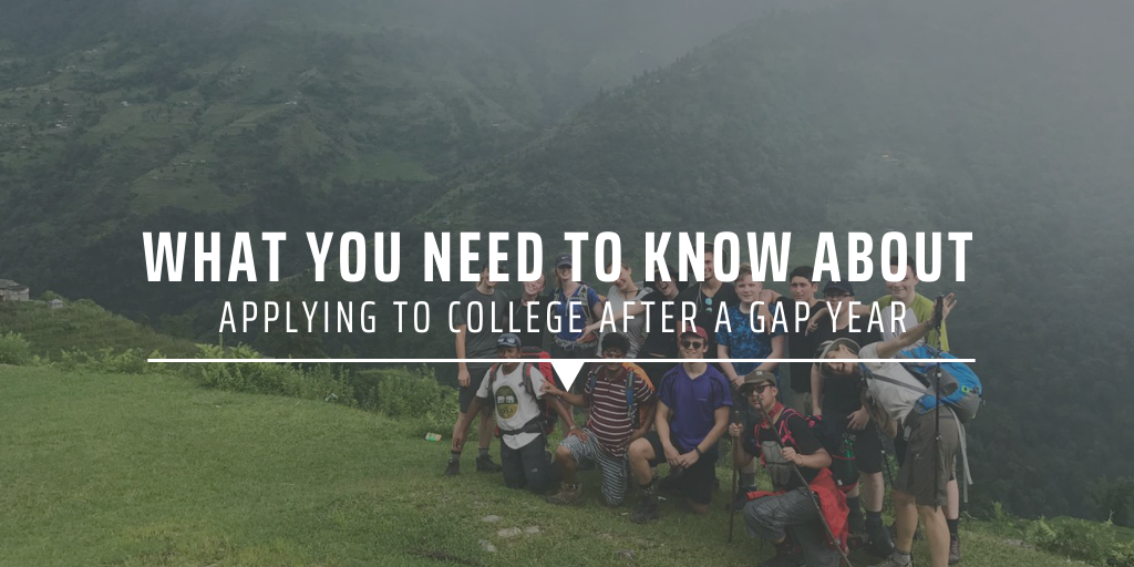 What you need to know about applying to college after taking a gap year