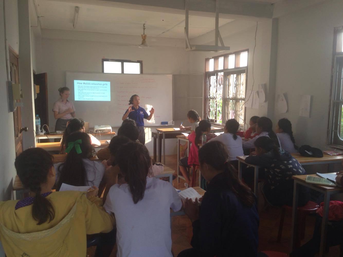 National Scholarship Student with GVI in Luang Prabang