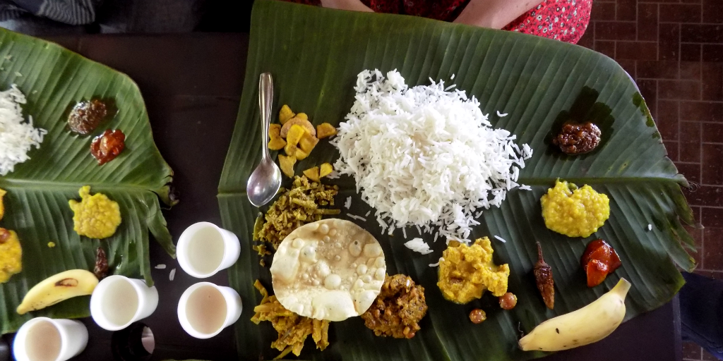Eating traditional curries is one of the best things to do in Fort Kochi.